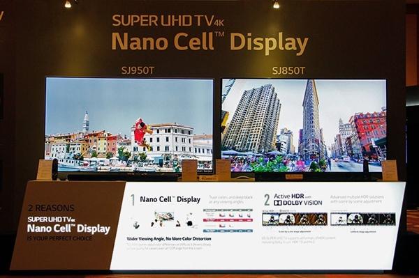تصاویر خارق العاده LCD های نانوسل ال جی
